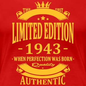 Limited Edition 1943 T-shirts - Vrouwen Premium T-shirt