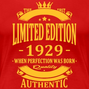 Limited Edition 1929 T-shirts - Vrouwen Premium T-shirt