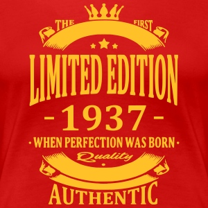 Limited Edition 1937 T-shirts - Vrouwen Premium T-shirt
