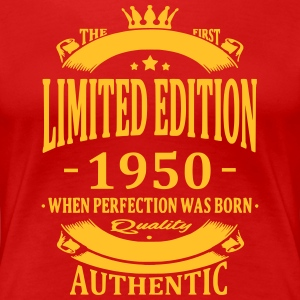 Limited Edition 1950 T-shirts - Dame premium T-shirt