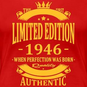 Limited Edition 1946 T-shirts - Vrouwen Premium T-shirt