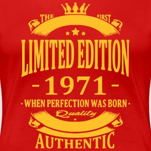 Limited Edition 1971 T-shirts - Vrouwen Premium T-shirt