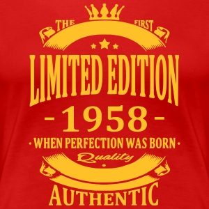 Limited Edition 1958 T-Shirts - Frauen Premium T-Shirt