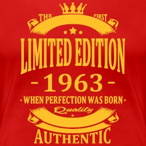 Limited Edition 1963 T-shirts - Dame premium T-shirt