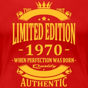 Limited Edition 1970 T-shirts - Vrouwen Premium T-shirt