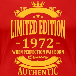 Limited Edition 1972 T-shirts - Vrouwen Premium T-shirt