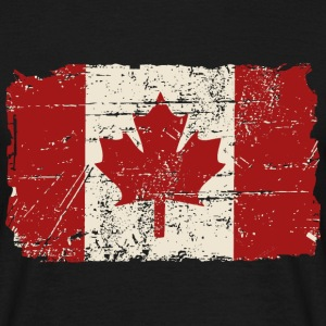 Canada Flag - Vintage Look T-shirts - Mannen T-shirt