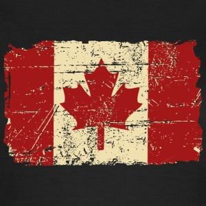Canada Flag - Vintage Look T-Shirts - Frauen T-Shirt
