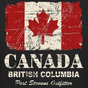 Canada Flag - Vintage Look T-shirts - Vrouwen Bio-T-shirt