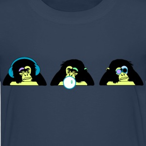three monkeys Shirts - Kids' Premium T-Shirt