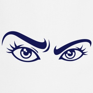 Sexy woman eyes  Aprons - Cooking Apron