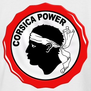 corsica power Tee shirts - T-shirt baseball manches courtes Homme
