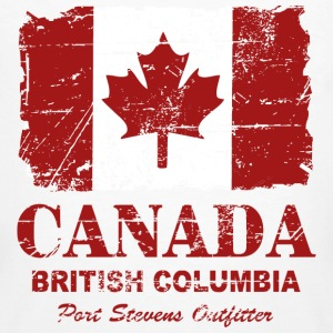Canada Flag - Vintage Look T-Shirts - Men's Organic T-shirt