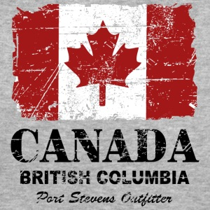 Canada Flag - Vintage Look T-Shirts - Women's Organic T-shirt