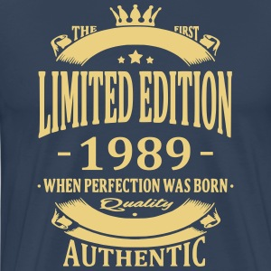 Limited Edition 1989 T-shirts - Herre premium T-shirt