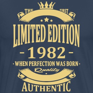 Limited Edition 1982 T-shirts - Mannen Premium T-shirt