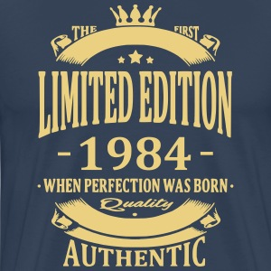 Limited Edition 1984 T-shirts - Mannen Premium T-shirt