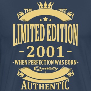 Limited Edition 2001 T-shirts - Herre premium T-shirt