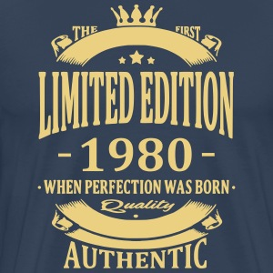 Limited Edition 1980 T-shirts - Herre premium T-shirt