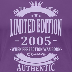Limited Edition 2005 T-Shirts - Frauen Premium T-Shirt