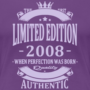 Limited Edition 2008 T-Shirts - Frauen Premium T-Shirt