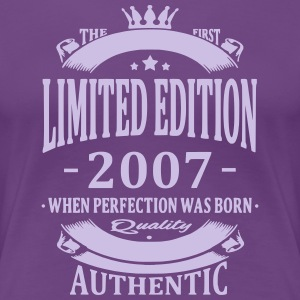 Limited Edition 2007 T-shirts - Vrouwen Premium T-shirt