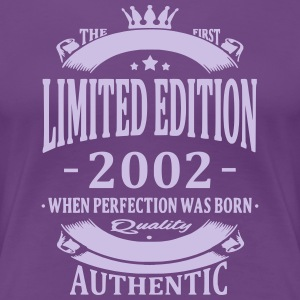 Limited Edition 2002 T-Shirts - Frauen Premium T-Shirt
