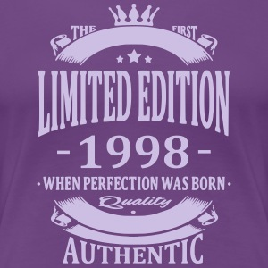 Limited Edition 1998 T-Shirts - Frauen Premium T-Shirt