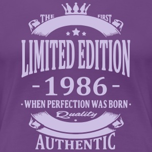 Limited Edition 1986 T-shirts - Vrouwen Premium T-shirt
