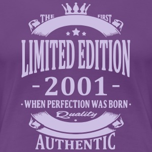Limited Edition 2001 T-Shirts - Frauen Premium T-Shirt