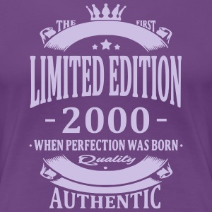 Limited Edition 2000 T-Shirts - Frauen Premium T-Shirt