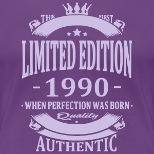 Limited Edition 1990 T-shirts - Dame premium T-shirt