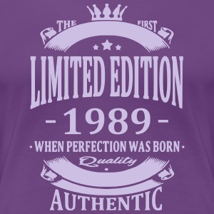 Limited Edition 1989 T-shirts - Vrouwen Premium T-shirt