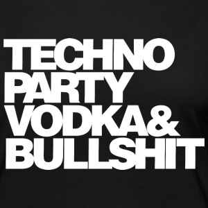 Techno Party Vodka - Women's Premium Longsleeve Shirt