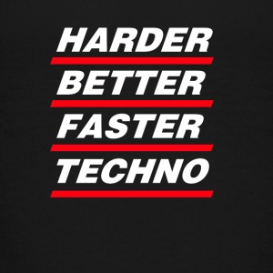 Harder Better Faster Techno - Kids' Premium T-Shirt