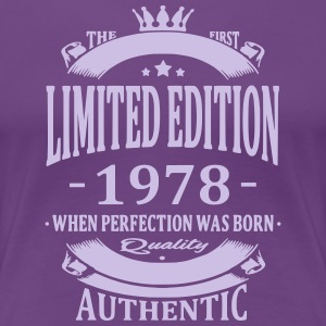 Limited Edition 1978 Tee shirts - T-shirt Premium Femme