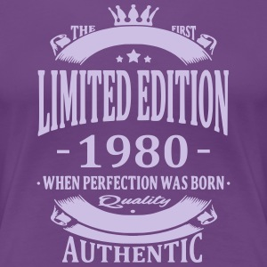 Limited Edition 1980 T-shirts - Vrouwen Premium T-shirt