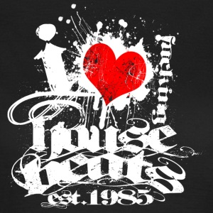 I Love House Beats - Frauen T-Shirt