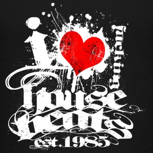 I Love House Beats - Teenage Premium T-Shirt