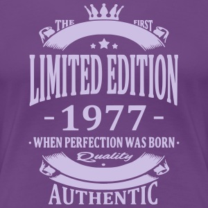 Limited Edition 1977 T-Shirts - Frauen Premium T-Shirt