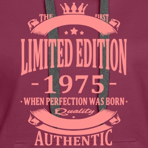 Limited Edition 1975 Hoodies & Sweatshirts - Women's Premium Hoodie