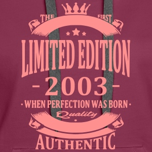 Limited Edition 2003 Hoodies & Sweatshirts - Women's Premium Hoodie