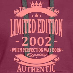 Limited Edition 2002 Hoodies & Sweatshirts - Women's Premium Hoodie