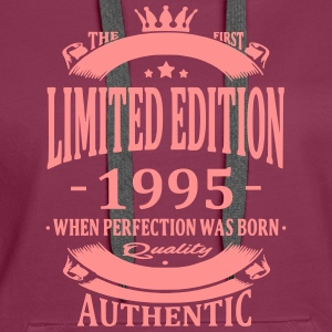 Limited Edition 1995 Hoodies & Sweatshirts - Women's Premium Hoodie