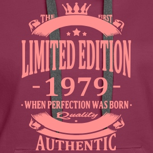 Limited Edition 1979 Hoodies & Sweatshirts - Women's Premium Hoodie