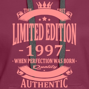 Limited Edition 1997 Hoodies & Sweatshirts - Women's Premium Hoodie