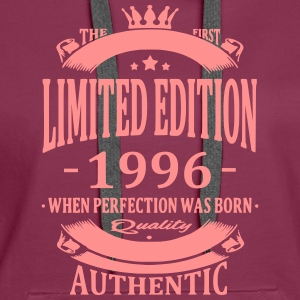 Limited Edition 1996 Hoodies & Sweatshirts - Women's Premium Hoodie
