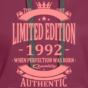 Limited Edition 1992 Hoodies & Sweatshirts - Women's Premium Hoodie