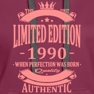 Limited Edition 1990 Hoodies & Sweatshirts - Women's Premium Hoodie