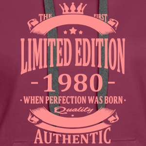 Limited Edition 1980 Sweat-shirts - Sweat-shirt à capuche Premium pour femmes